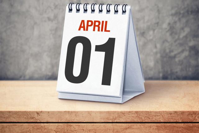 April Fool's Day 1 เมษายน วันโกหก เมษาหน้าโง่ !